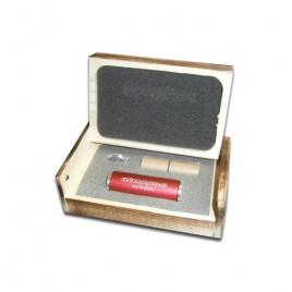 Rollo aluminio R44 + Caja de madera